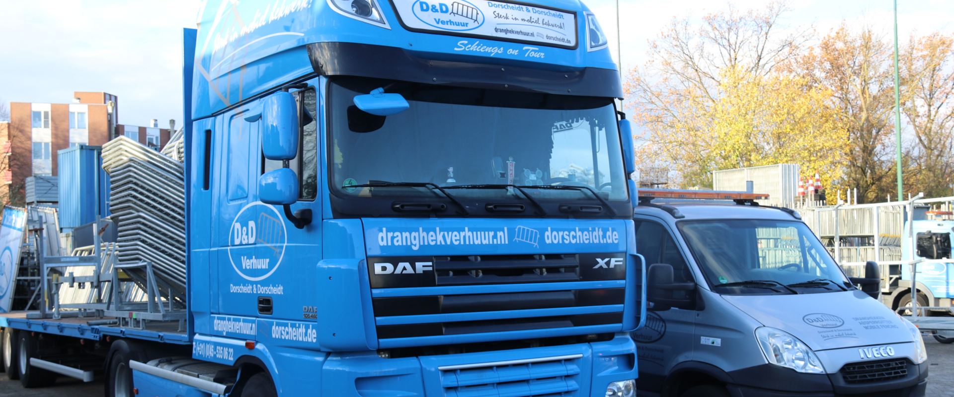truck D&D verhuur